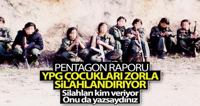 Pentagon: YPG çocukları zorla silah altına alıyor