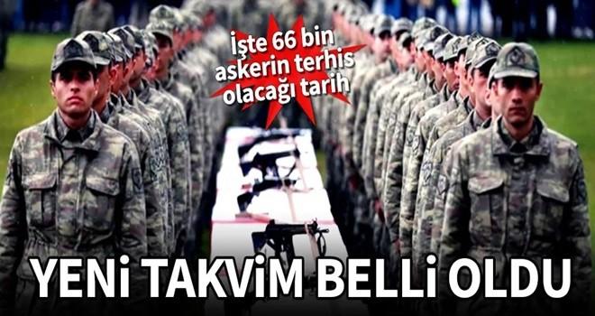 Yeni askerlik takvimi belli oldu! İşte 66 bin askerin terhis tarihi