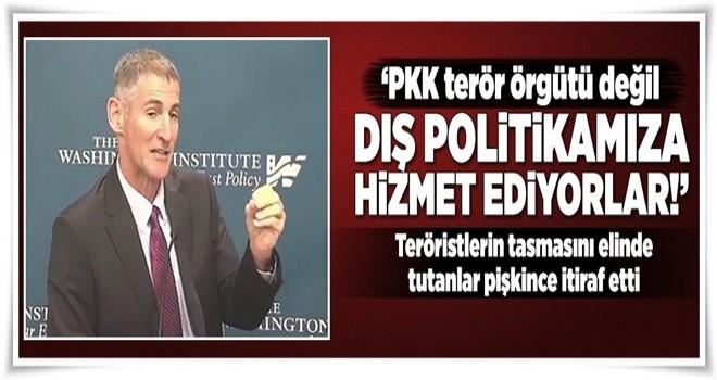 PKK'nın tasmasını elinde tutanlar pişkince itiraf etti  .