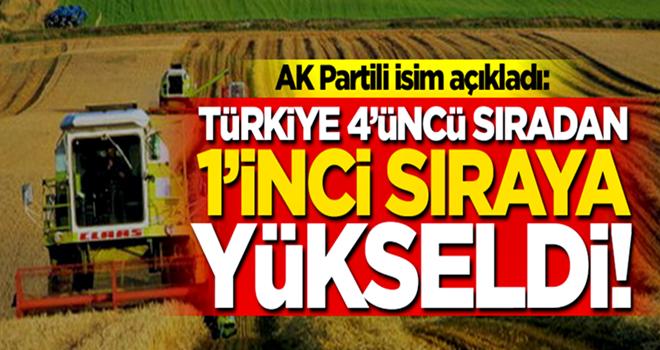 AK Partili Cevdet Yılmaz duyurdu: Türkiye 4. sıradan 1. sıraya yükseldi