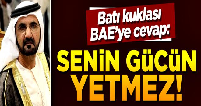 Uysal: BAE'nin Türkiye ile çatışacak gücü yok!
