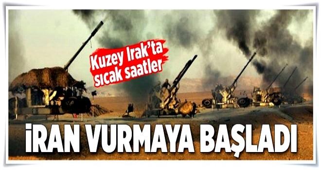 İran, IKBY'nin dağlık bölgelerini bombalıyor  .