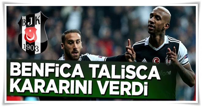 Benfica Talisca'yı satma kararı aldı