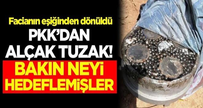 Facianın eşiğinden dönüldü! PKK'dan alçak tuzak