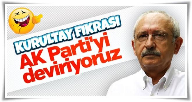 Kemal Kılıçdaroğlu'nu kurultay heyecanı sardı