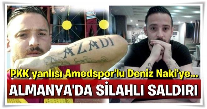 PKK yanlısı Amedsporlu Naki'ye 2 mermi...