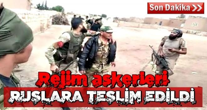 MSB: Rejim askerleri Rusya'ya teslim edidi
