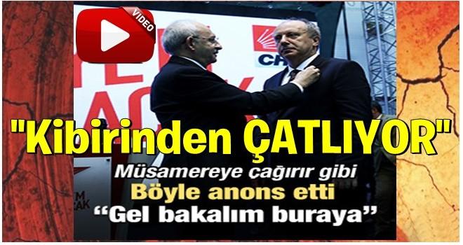 Kılıçdaroğlu'nun İnce anonsu dikkat çekti!
