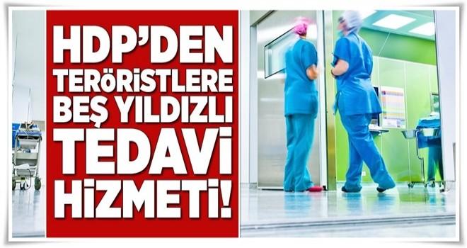 HDP'den PYD'ye lüks tedavi hizmeti!