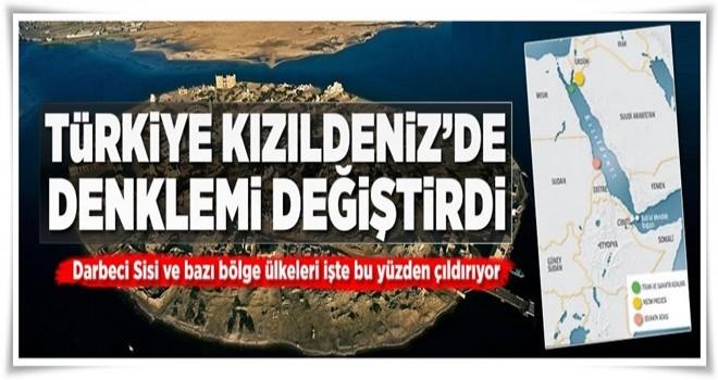 Türkiye Kızıldeniz'de denklemi değiştirdi .