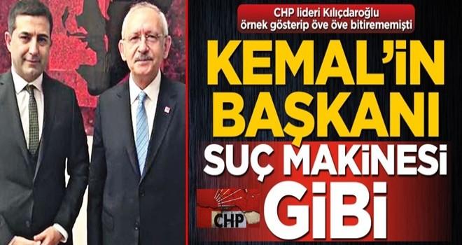 Kemal'in başkanı suç makinesi gibi