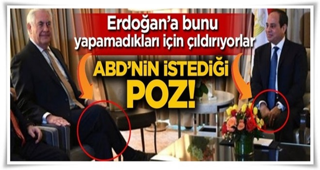 ABD Türkiye'ye bunu yapamadığı için çıldırıyor! ABD'nin istediği poz