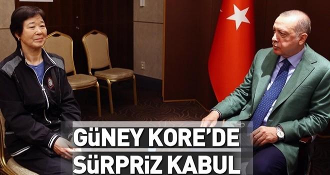 Cumhurbaşkanı Erdoğan 'Ayla' ile buluştu