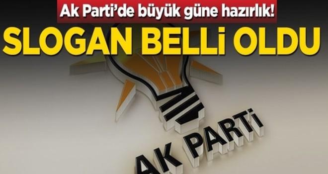 AK Parti kuruluş yıl dönümünde slogan belli oldu!