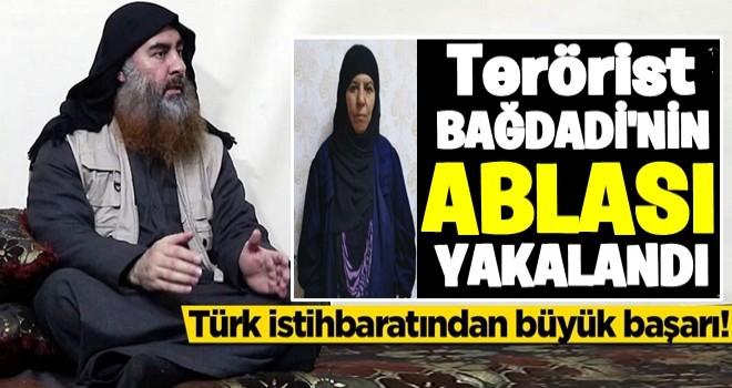 Türk istihbaratı Bağdadi'nin ablası Rasmiya Awad'ı yakaladı
