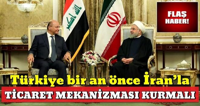 Türkiye, ABD'nin İran ambargosunu fırsata çevirmeli..
