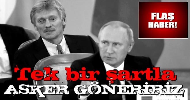 """Rusya'dan flaş Dağlık Karabağ açıklaması! """"Tek bir şartla asker göndeririz"""""""