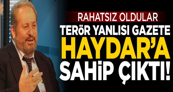 Terör yanlısı Birgün gazetesi, Haydar Baş'a sahip çıktı!