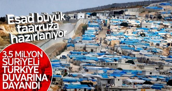 Suriye idlib savaşına hazırlanıyor