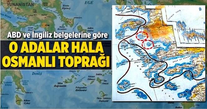 O adalar hala Osmanlı toprağı .