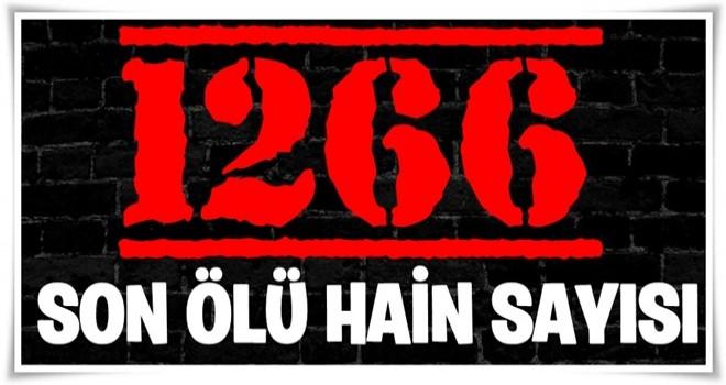 TSK açıkladı: Afrin'de bin 266 terörist öldürüldü