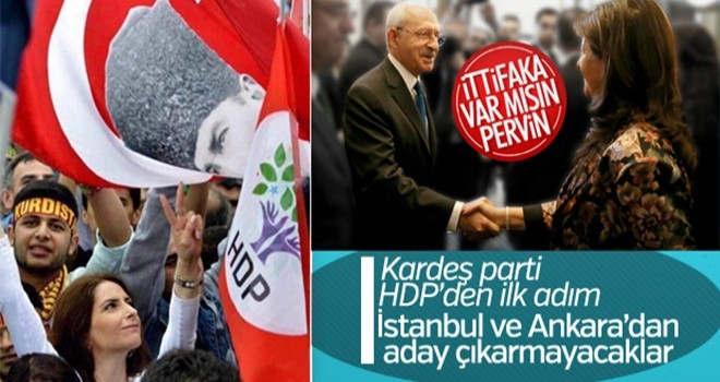 HDP Ankara ve İstanbul'dan aday çıkarmayacak