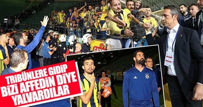 Fenerbahçeli taraftarlar takımı yuhaladı