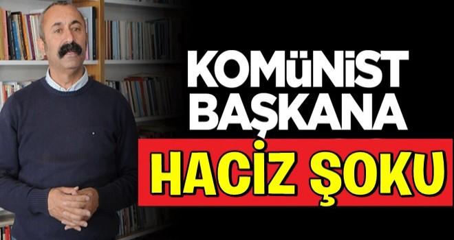 Tunceli'nin TKP'li komünist Belediye Başkanı Fatih Maçoğlu'na haciz şoku!