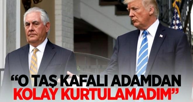 Trump: O taş kafalı adamdan kolay kurtulamadım