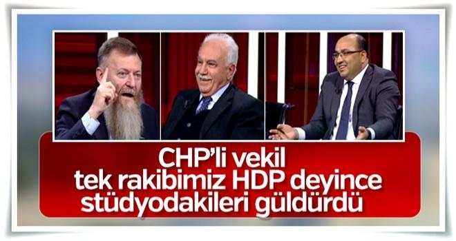 Atıcı'ya göre CHP'nin tek rakibi HDP'ymiş!