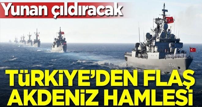 Türkiye'den flaş Akdeniz hamlesi! Yunanistan çıldıracak