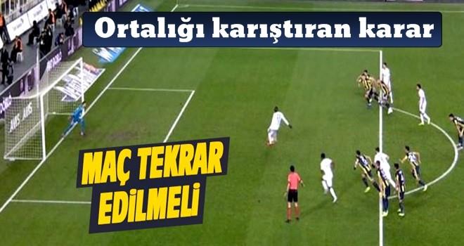 Kadıköy'deki maçta kural hatası iddiası