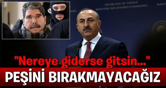 Bakan Çavuşoğlu'ndan Salih Müslüm açıklaması