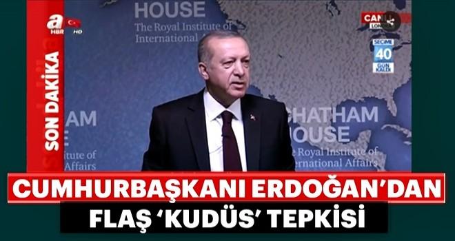 Son dakika: Cumhurbaşkanı Erdoğan Londra'da konuşuyor
