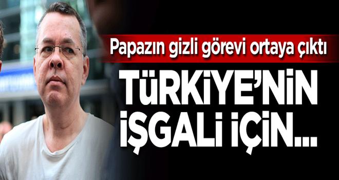 Brunson'un Türkiye'deki gizli görevi ortaya çıktı