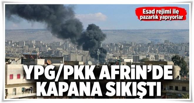 Terör örgütü PKK/YPG'ye Şam'dan ret! .