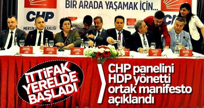 CHP-HDP ittifakı başladı