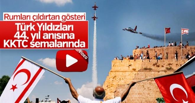 Türk yıldızlarından KKTC'de gösteri