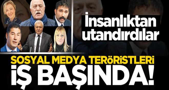 İnsanlıktan nasibini almamış sosyal medya teröristleri iş başında!