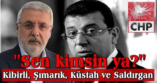 Mehmet Metiner, CHP'nin İstanbul adayına fena yüklendi!