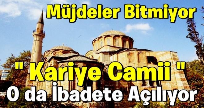 İstanbul'daki Kariye Camii ile ilgili flaş karar! Resmi Gazete'de yayımlandı: İbadete açılıyor...