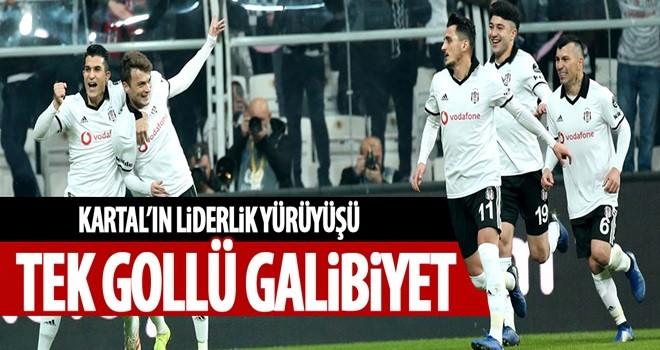 Beşiktaş Galatasaray'ı 1-0 yendi