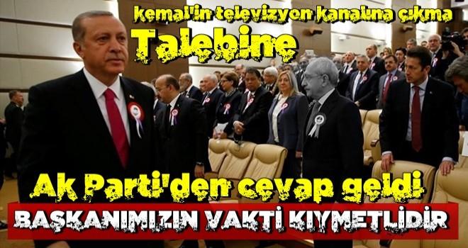 Başkan Erdoğan k.k ile televizyona çıkacak mı? AK Parti'den cevap geldi