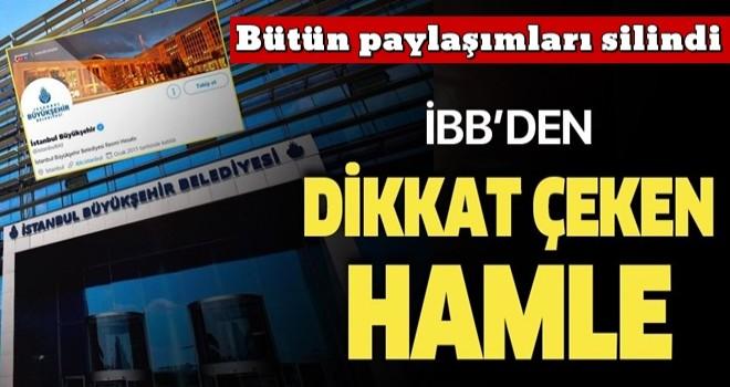 İBB'nin Twitter hesabı, İmamoğlu, Yavaş, Soyer ve Kılıçdaroğlu'nu takipten çıkardı .