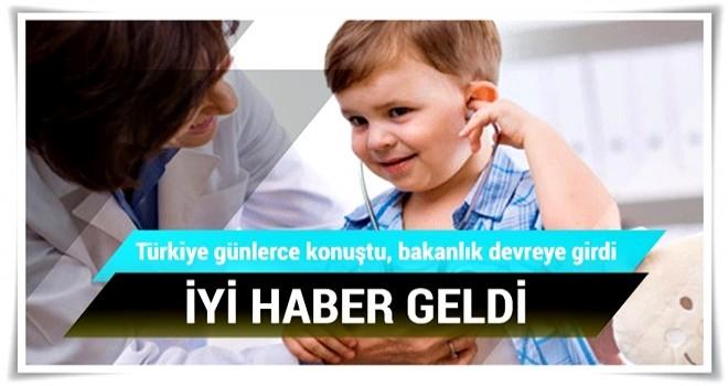 SGK, SMA hastalarının ilaçlarını ödeme listesine aldı