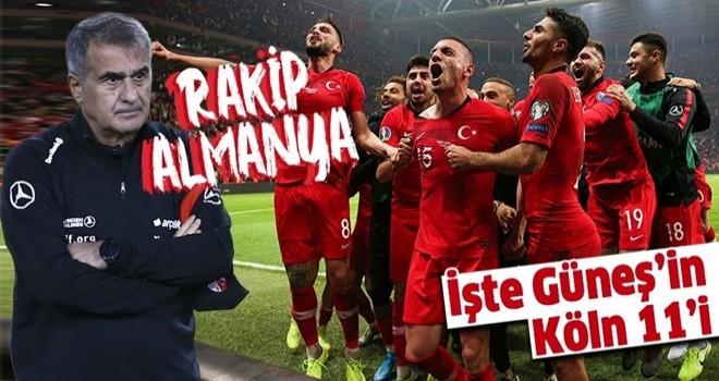 Milliler moral arıyor! Almanya-Türkiye hazırlık maçının muhtemel ilk 11'i!...