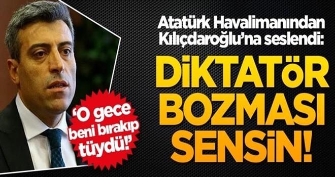 Öztürk Yılmaz'dan Kemal Kılıçdaroğlu'na çok ağır sözler: Diktatör bozması sensin!