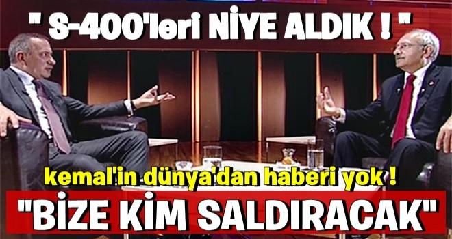 """Kılıçdaroğlu'ndan skandal S-400 açıklaması! """"Bize kim saldıracak?"""""""