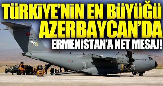 Türkiye'nin en büyüğü Azerbaycan'da!