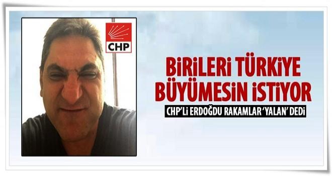 Aykut Erdoğdu, TÜİK'i yalancılıkla suçladı